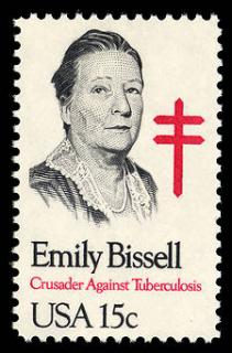 Emily Bissell honored on 15 cent US Commeomorative Postage Stamp