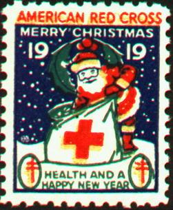 1919 type 1 Christmas Seal