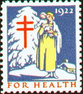 1922 Christmas Seal