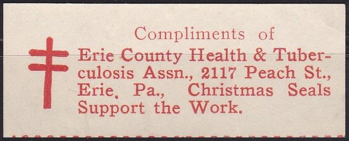 US Local TB unlisted Eire County PA