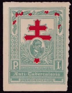 1910 #1 Philippines TB Christmas Seal