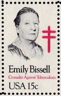 15 cent Emily Bissell US Commemorative Postage Stamp
