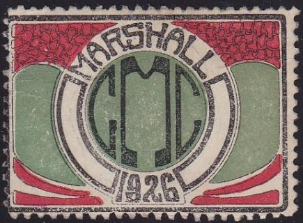 US Local TB Marshall #1091 1926