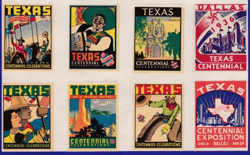 Poster Stamps, Texas