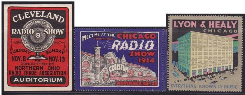 Radio & Music Poster Stamps