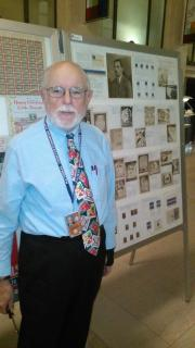John Hotchner at Smithsonian National Postal Museum