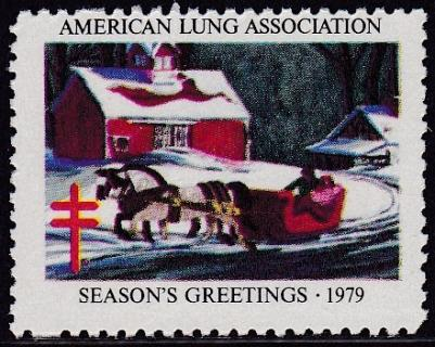 1979 from '42 Dale Nichols Christmas Seal Design Experiment