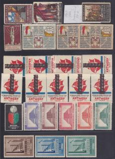 Belgian Exposition Poster Stamps
