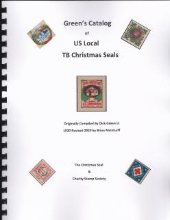 Green's Catalog of US Local TB Christmas Seals, 2020 edition, Brian McInturff