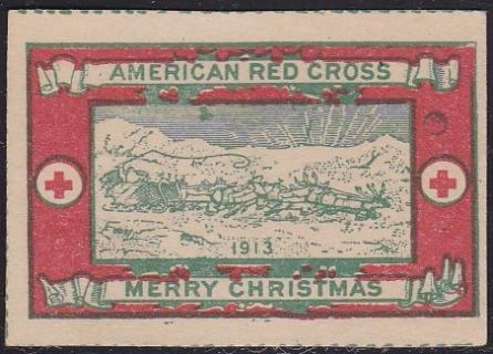 1913 type 4 Christmas Seal