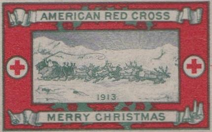 1913 type 2a Christmas Seal