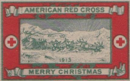 1913 type 2b Christmas Seal