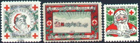1912-14 Chicago Local TB Christmas Seals