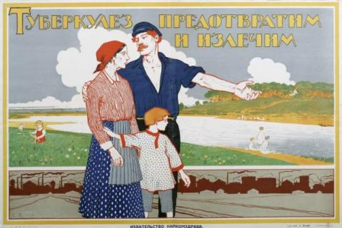 Russian TB Poster