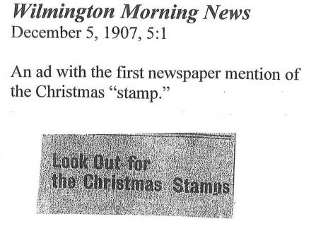 Watch out for the Christmas Stamps