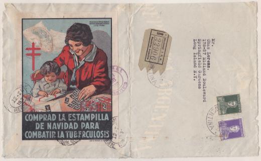Argentina #101w 1931 Window Label