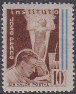 Argentina #120 1949 Rare Seal, last Jose Penna issue