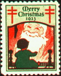 1923 Christmas Seal