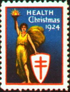 1924 Christmas Seal
