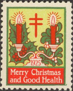 1925 type 3 Christmas Seal