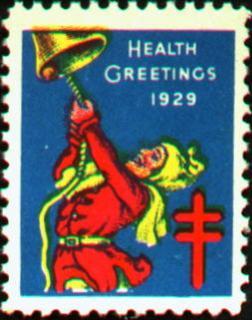 1929 Christmas Seal