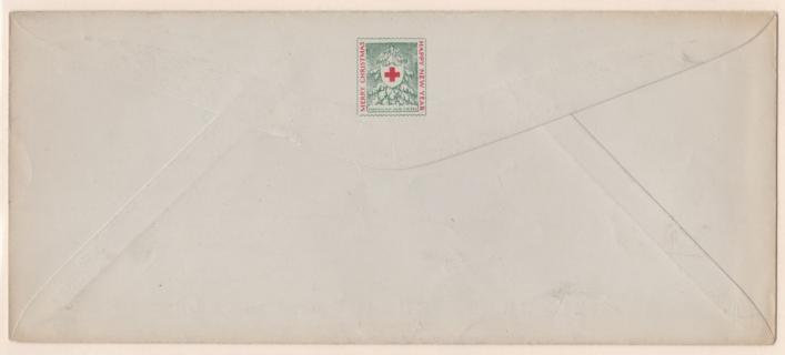 1917 Christmas Seal Envelope