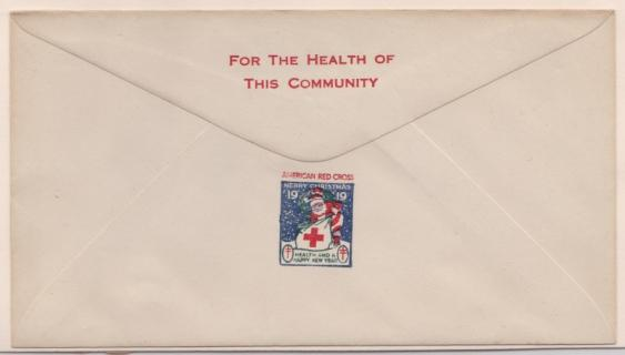 1919 Christmas Seal Envelope