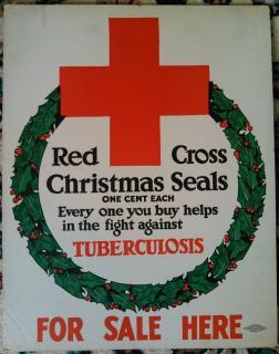 1918-1919 Christmas Seal Poster