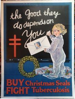 1922 Christmas Seal Poster