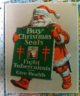 1923 Christmas Seal Poster