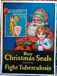 1924 Christmas Seal Poster