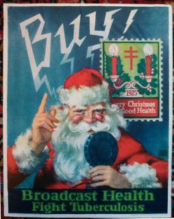 1925 Christmas Seal Poster