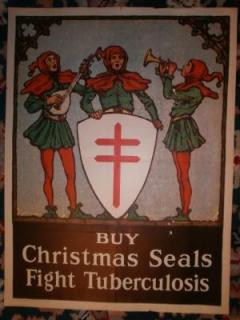 1926 Christmas Seal Poster