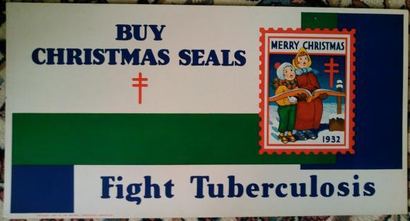 1932 Christmas Seal Poster