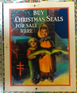 1932 Christmas Seal Poster, proof
