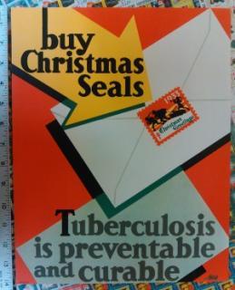 1933 Christmas Seal Poster