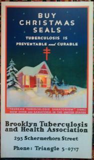 1934 Christmas Seal Poster