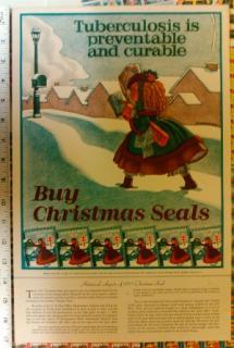 1935 Christmas Seal Poster
