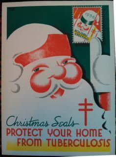 1936 Christmas Seal Poster