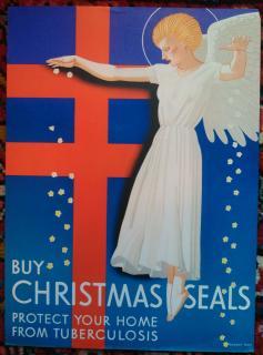 1939 Christmas Seal Poster