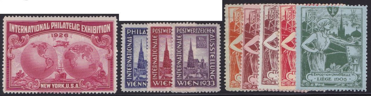 Poster Stamps - Fairs & Exhibitions