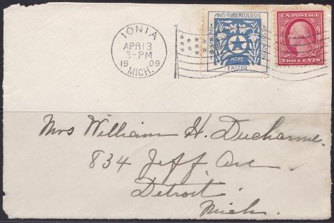 US Local TB #1171 new date April 1909
