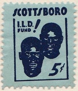 1934 International Labor Defense Scottsboro Boys Fundraising Seal