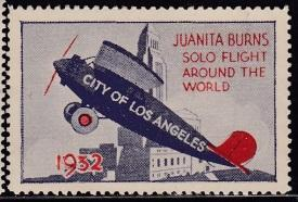 Juanita Burns Solo Flight