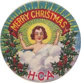 Holy Childhood #1 1915 Catholic Christmas Seal