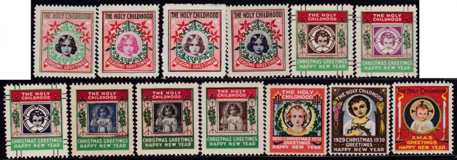 1928-40 Holy Childhood Christmas Seals