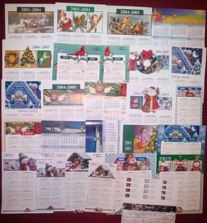 Christmas Seal Calendars