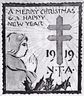1919 Christmas Seal Original Art - Essay