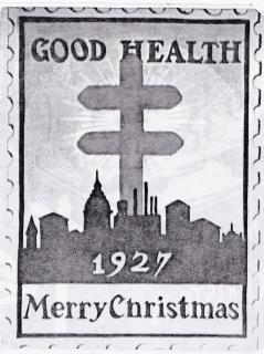 1927 Christmas Seal Original Art - Essay
