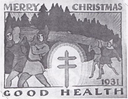 1931 Christmas Seal Original Art - Essay